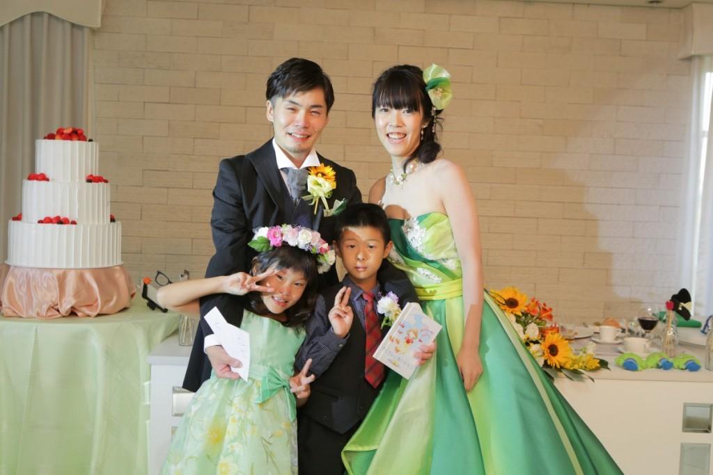 アットホームかつ自分たちらしい結婚式を挙げることが出来ました!!