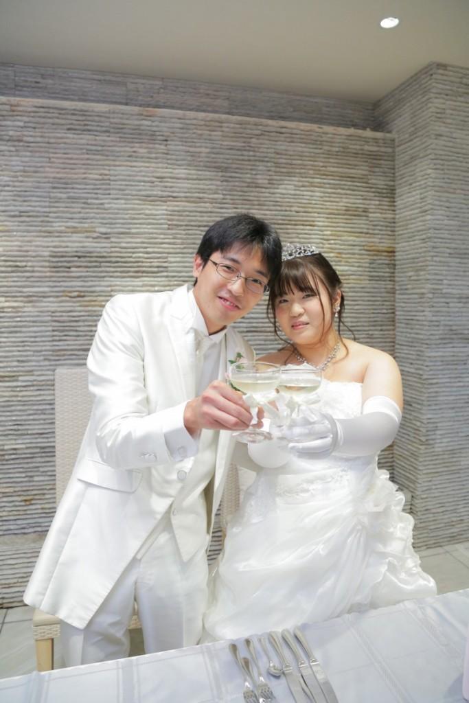 ゲストとの時間をたくさん作っていただき、スタッフの皆さんも親切でとても良い結婚式になりました。