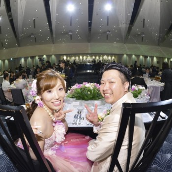 自分たちの好きなこと・やりたいことをつめこんだ結婚式になりました!!!