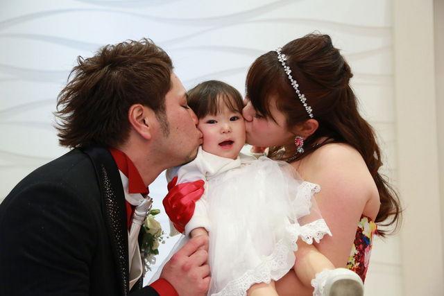 娘と一緒に一生の思い出になる結婚式になりました。