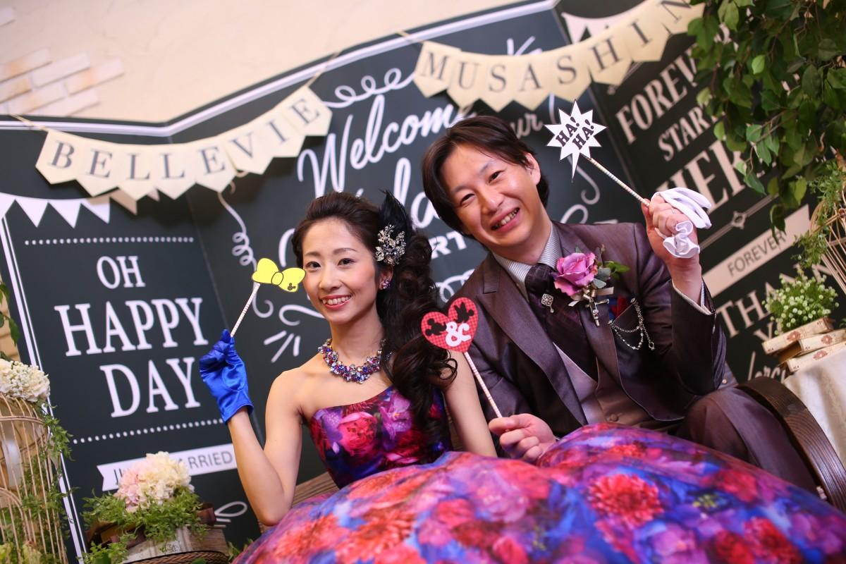 笑顔溢れるあたたかい結婚式になりました♡